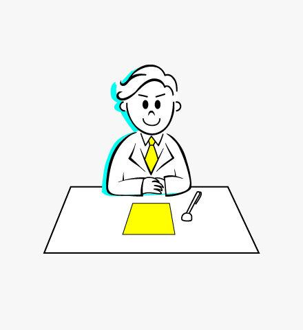 事務所案内の経営理念の画像