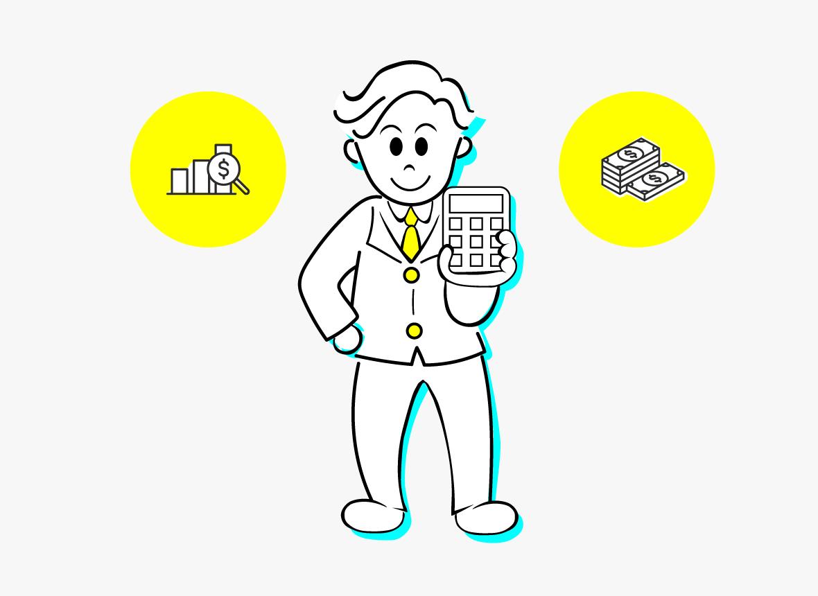 事業内容の税務会計の画像